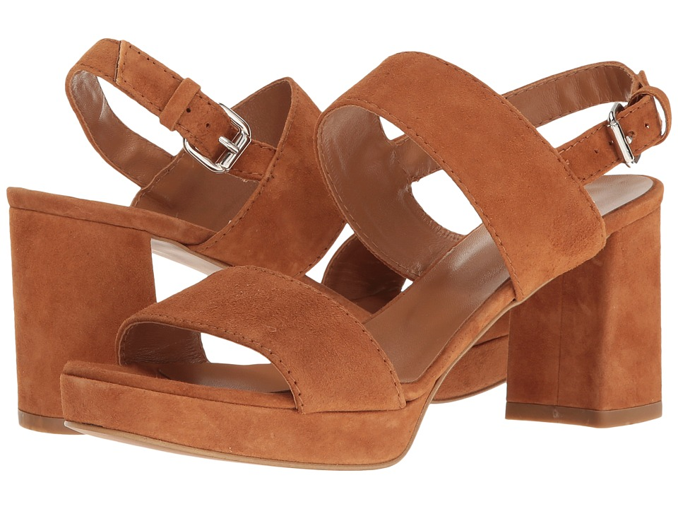 Summit by White Mountain Emilia (Cognac Suede) Women