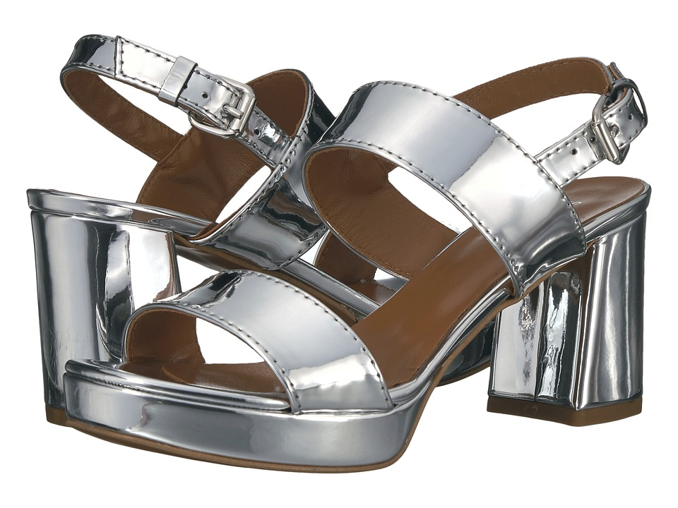 Summit by White Mountain Emilia (Silver Metallic Leather) Women