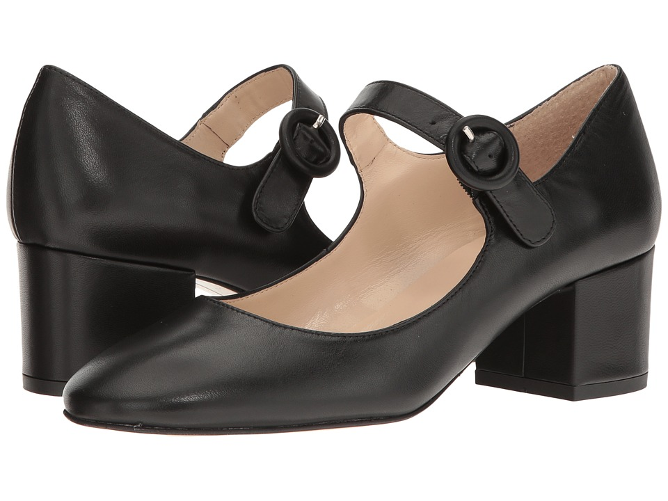 Summit by White Mountain - Andrea (Black Leather) Women's Shoes