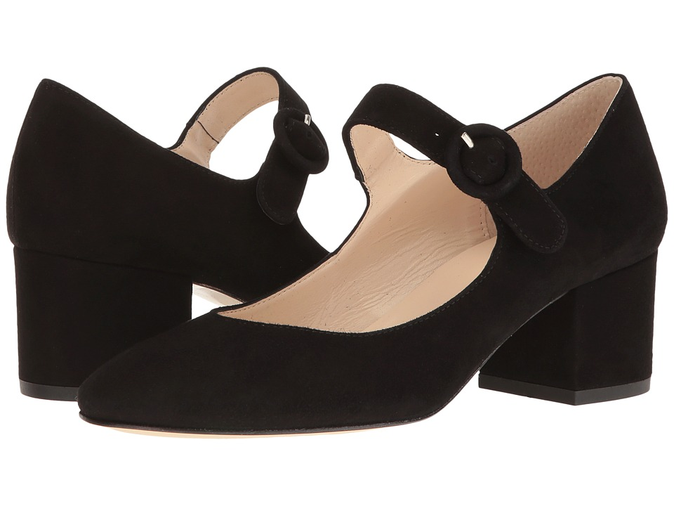 Summit by White Mountain - Andrea (Black Suede) Women's Shoes