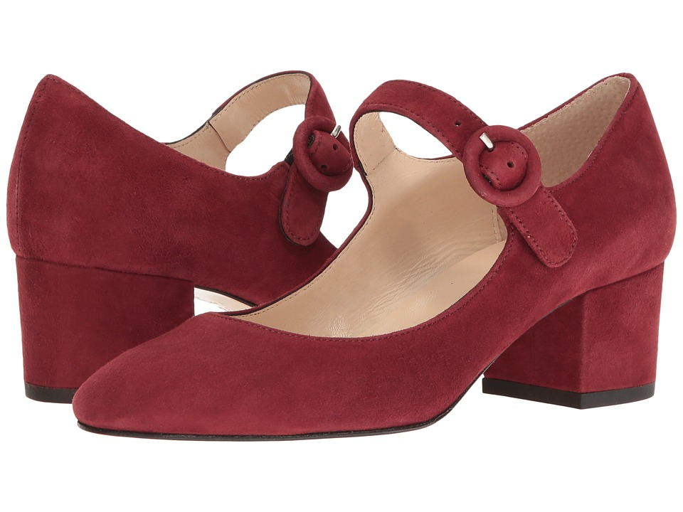 Summit by White Mountain - Andrea (Burgundy Suede) Women's Shoes