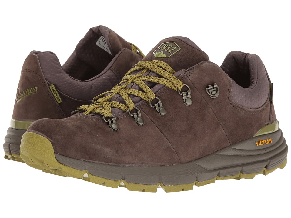 Danner - Mountain 600 Low 3 (Dark Brown/Lichen) Men's Shoes
