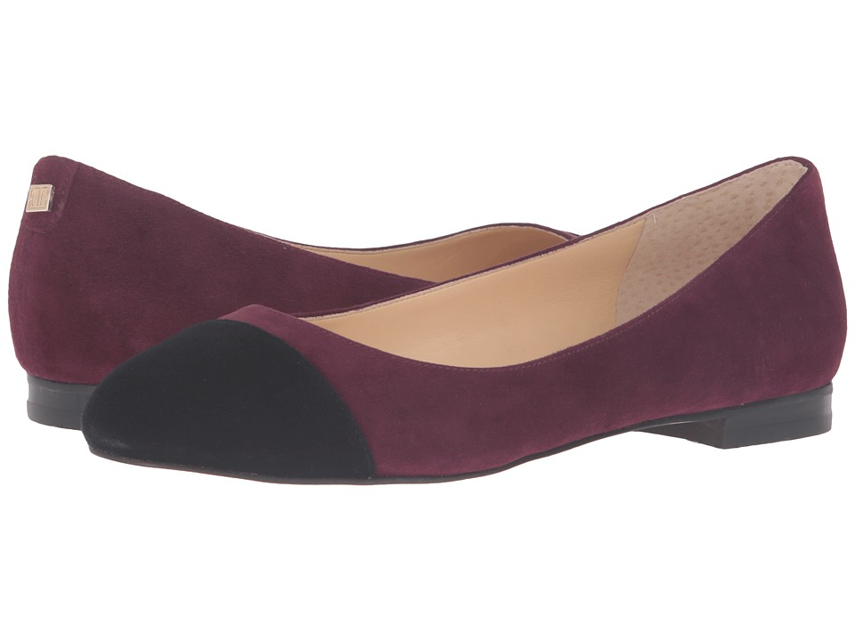 Ivanka Trump - Jocyln (Dark Red FH Kid Suede/Savoy) Women's 1-2 inch heel Shoes