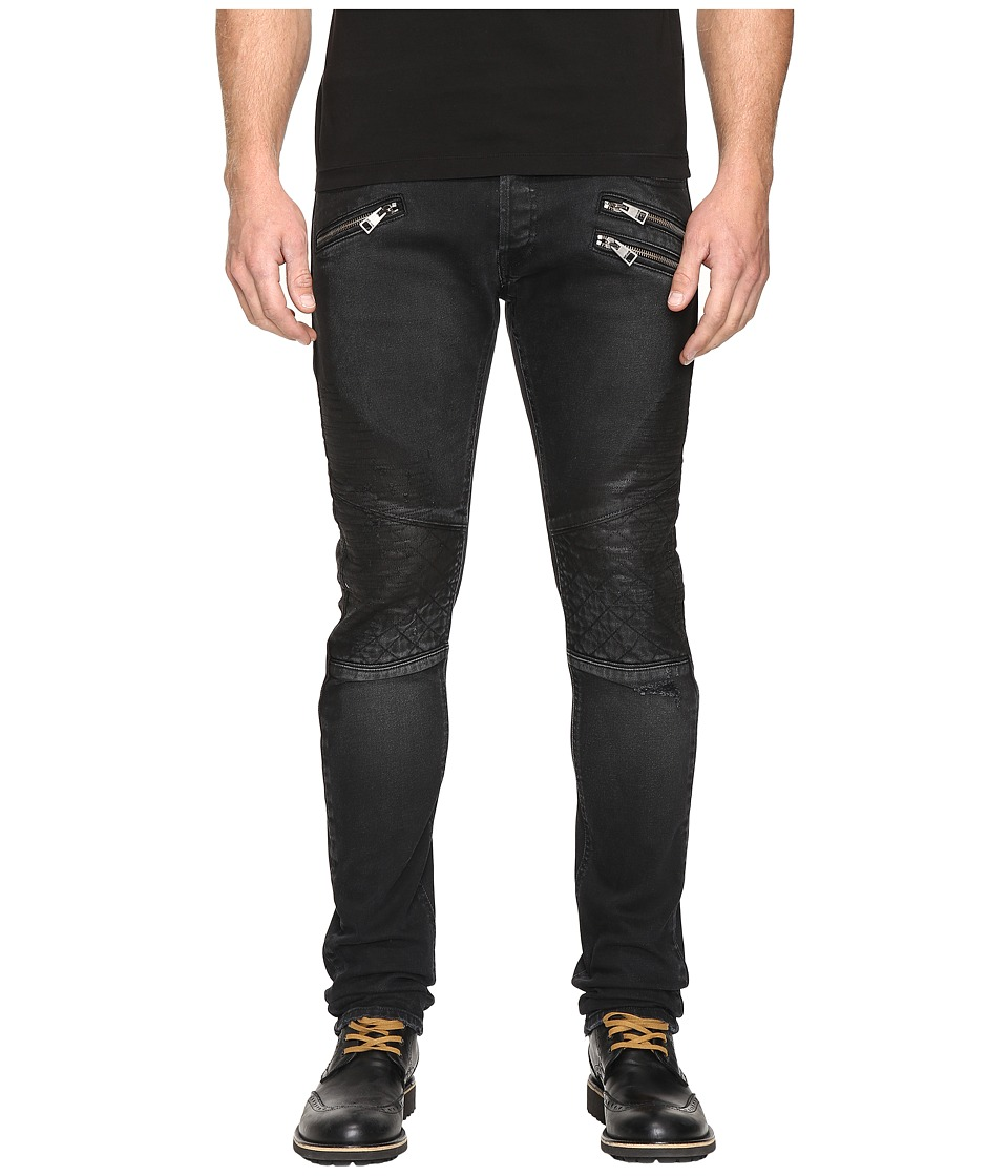 Just Cavalli - Moto Jeans (Black) Men's Jeans