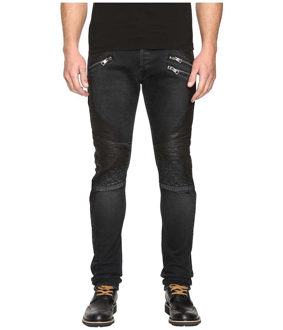 Just Cavalli - Moto Jeans (Black) Men's Jeans