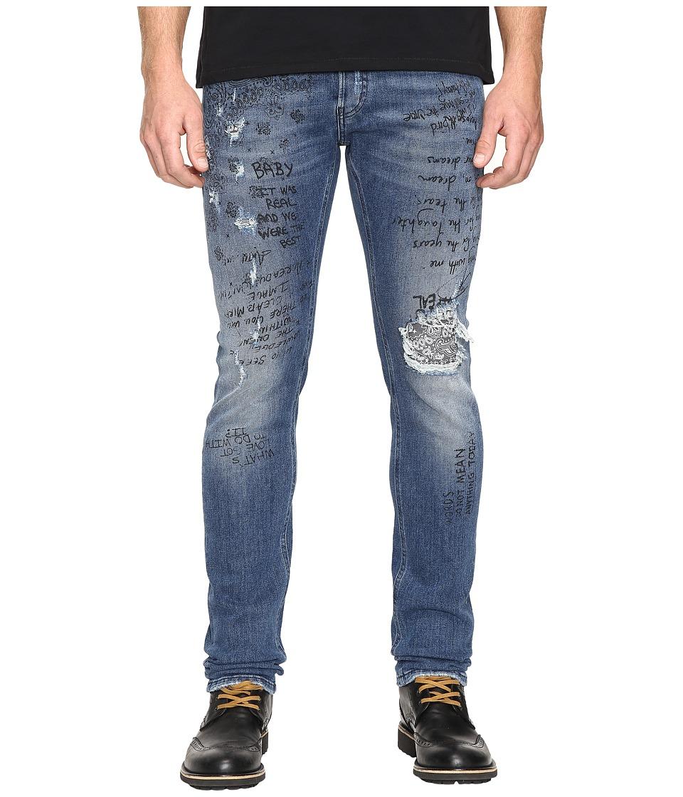 Just Cavalli - Five-Pocket Jeans (Blue Denim) Men's Jeans