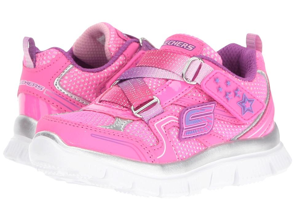 SKECHERS KIDS - Skech Appeal - Dreaming' Darlin (Toddler) (Hot Pink/Purple) Boy's Shoes