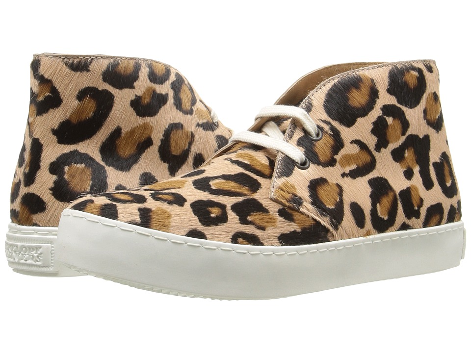 Penelope Chilvers - Jungle Leopard (Rose Bovine Leather) Women's Shoes