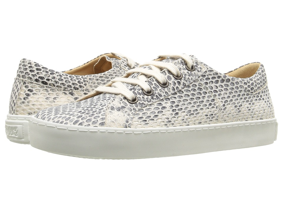 Penelope Chilvers - Ribellino Snake Sneaker (White Bovine Leather) Women's Shoes
