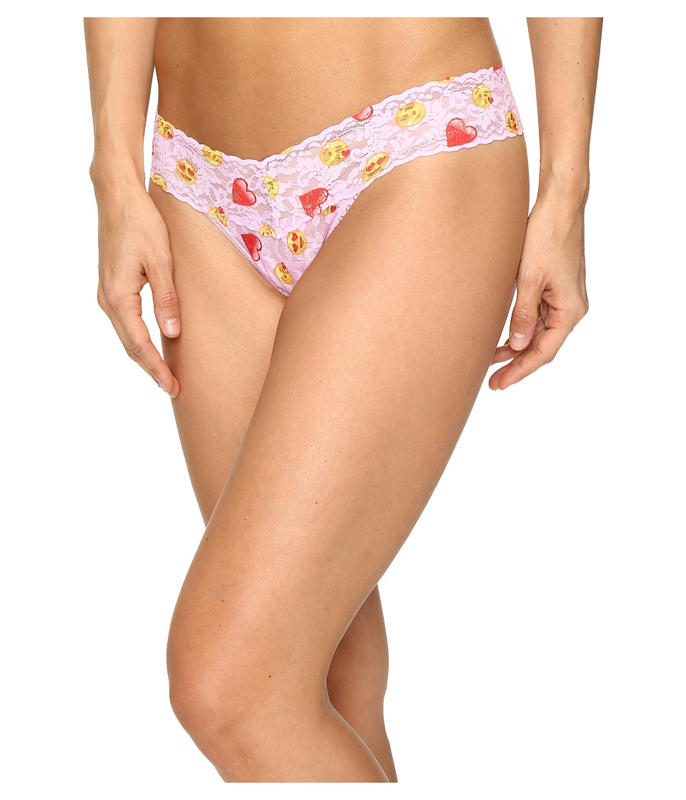 Hanky Panky - Love Note Low Rise Thong (Multi) Women's Underwear