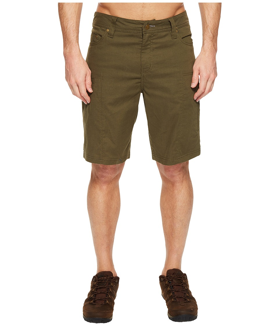Toad&Co - Cache Cargo Shorts (Dark Moss) Men's Shorts