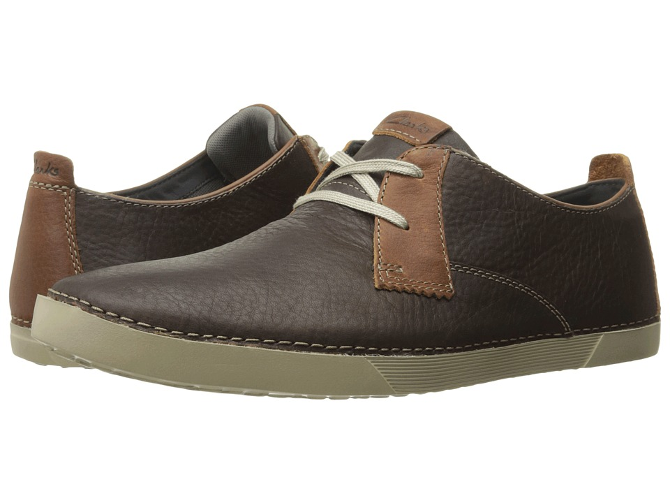 Clarks Neelix Vibe (Dark Brown Leather) Men