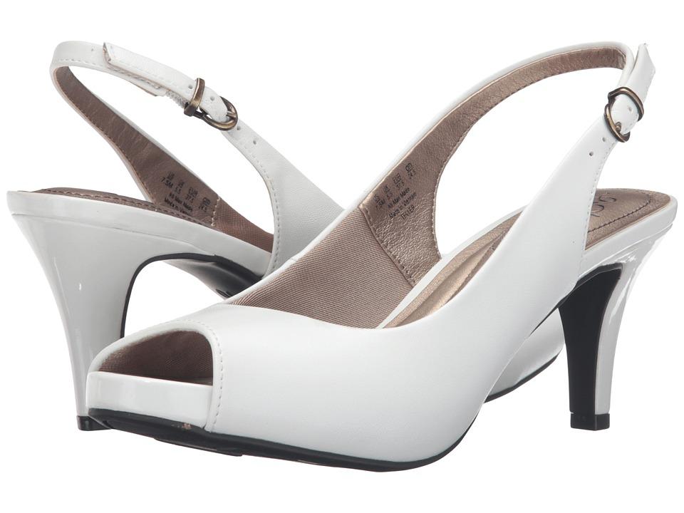 LifeStride - Teller (White Elegant) Women's Shoes