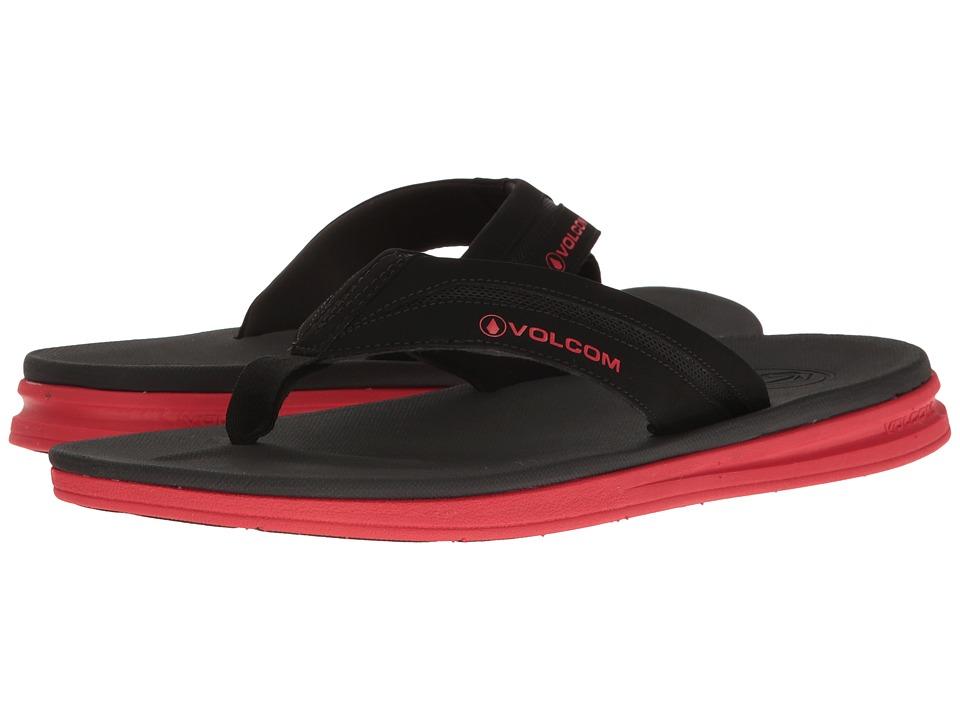 Volcom - Draft Sandal (Red Combo) Men's Sandals