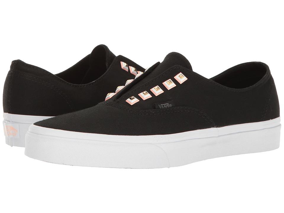 Vans - Authentictm Gore ((Two-Tone Studs) True White/True White) Skate Shoes