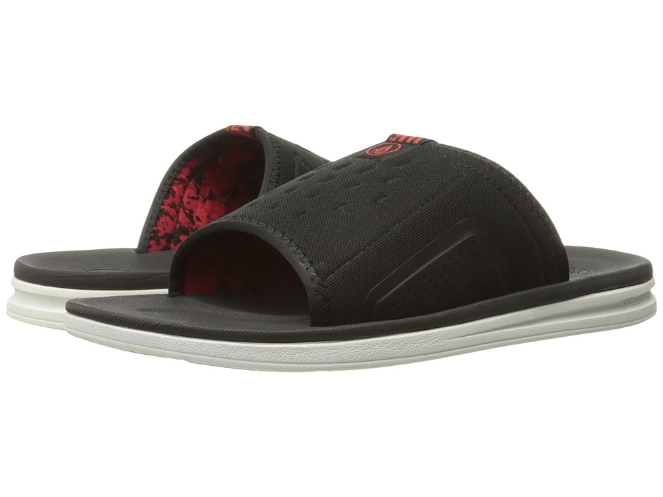 Volcom Draft Slide (Red Combo) Men