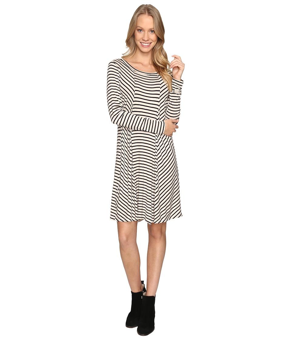 B Collection by Bobeau - Indra Long Sleeve Dress (Stripe) Women's Dress
