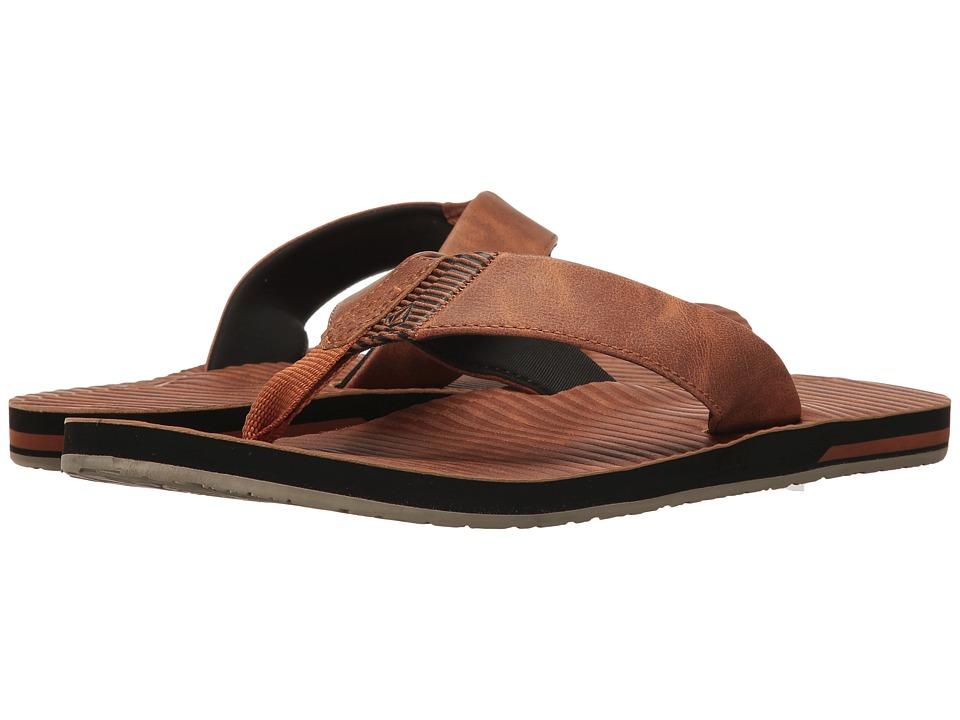Volcom - Fader (Cognac) Men's Sandals