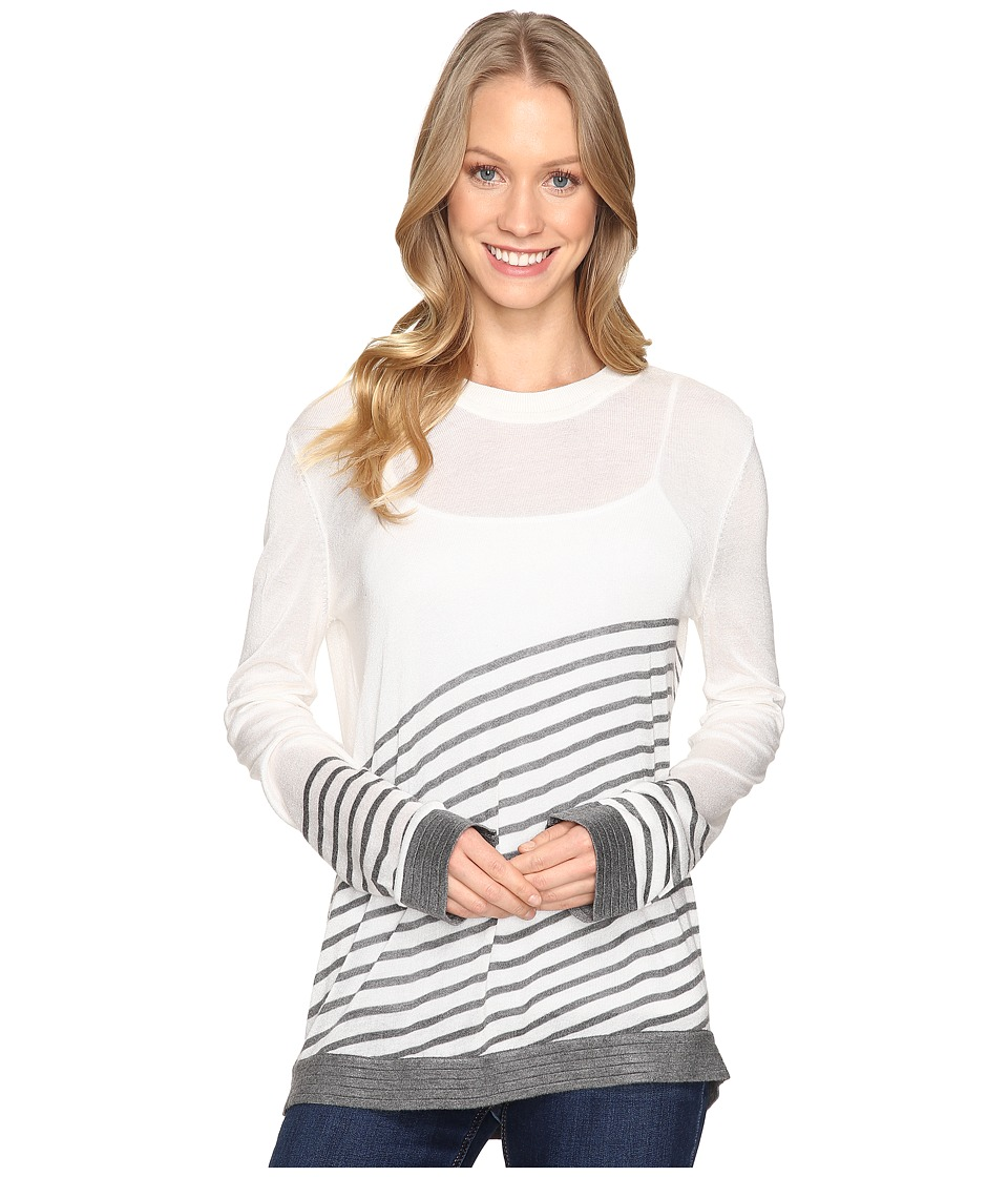 B Collection by Bobeau - Marisole Stripe Sweater (Ivory Mix) Women's Sweater