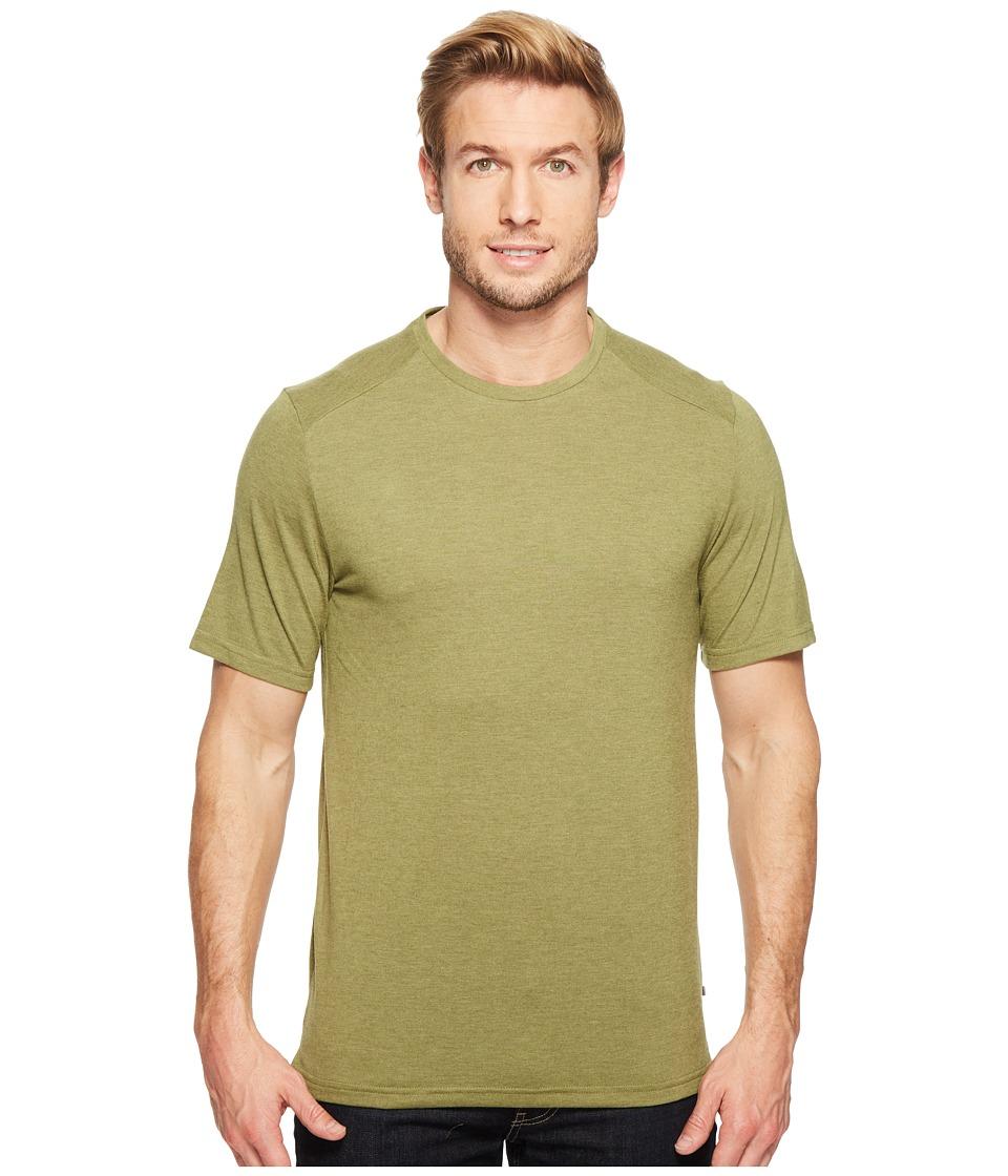 Toad&Co - Trailbreak Short Sleeve Crew (Juniper) Men's Clothing