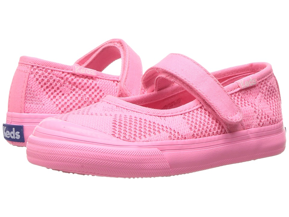 Keds Kids - Double Up MJ (Toddler/Little Kid) (Pink) Girl's Shoes