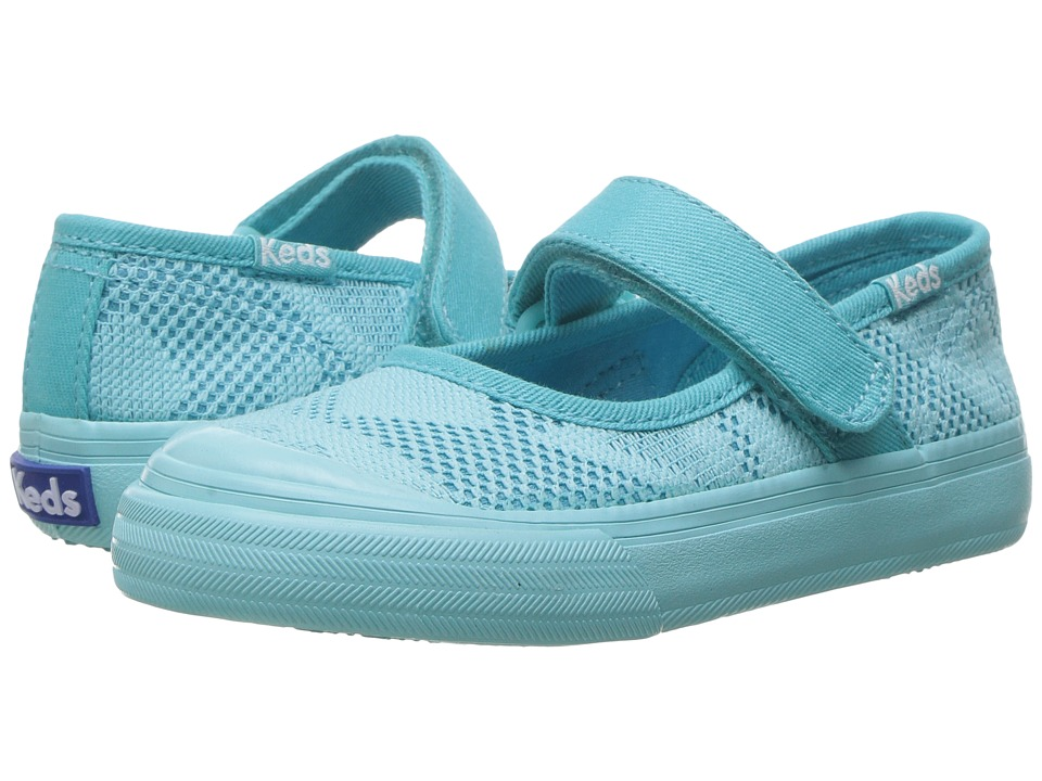 Keds Kids - Double Up MJ (Toddler/Little Kid) (Turquoise) Girl's Shoes
