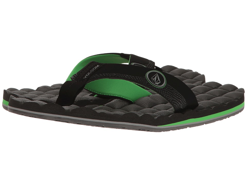 Volcom - Recliner (Poison Green) Men's Sandals