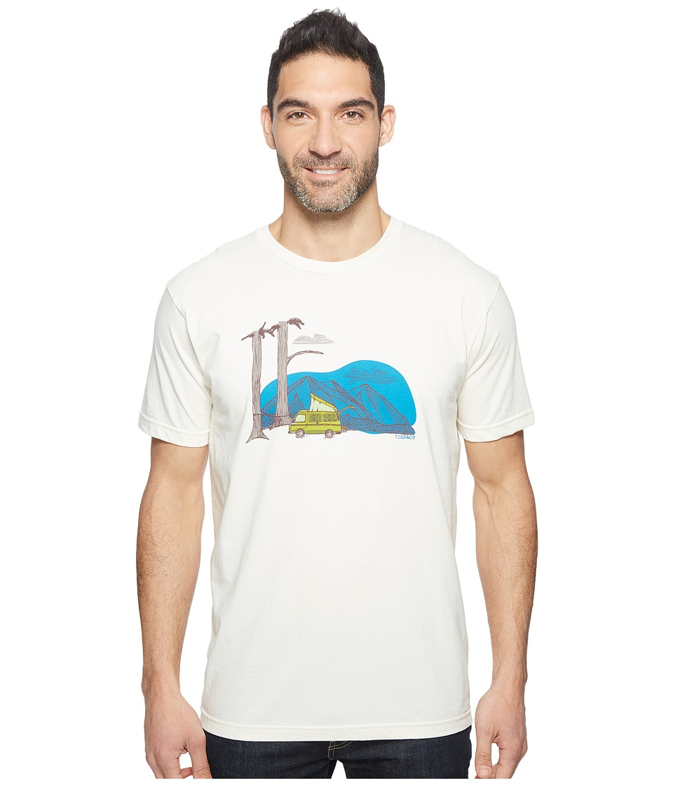 Toad&Co - Ramblin' Van Graphic Tee (Natural) Men's T Shirt