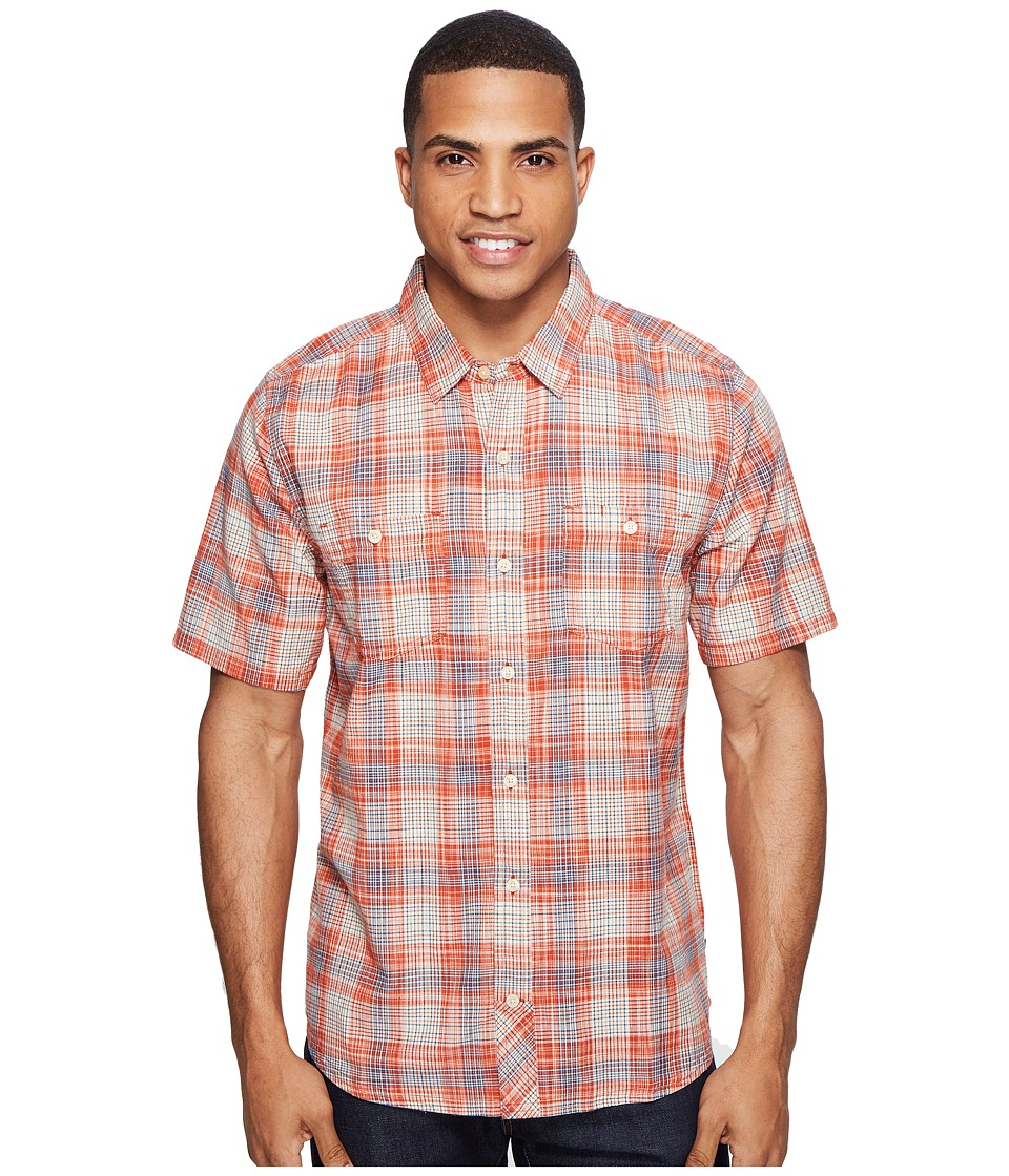 Toad&Co - Smythy S/S Shirt (Red Clay) Men's Short Sleeve Button Up