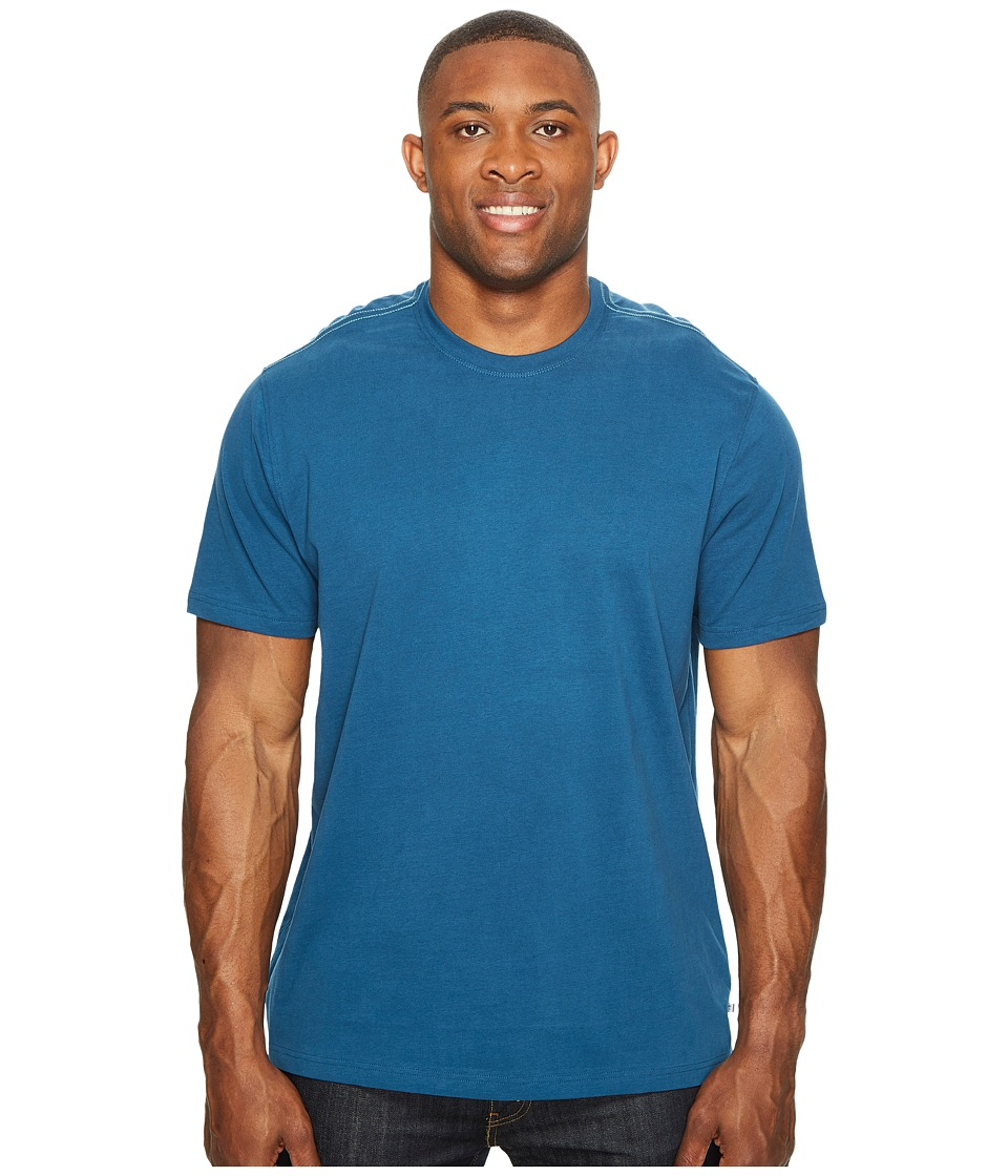 Toad&Co - Peter S/S Tee (Blue Abyss) Men's Short Sleeve Pullover