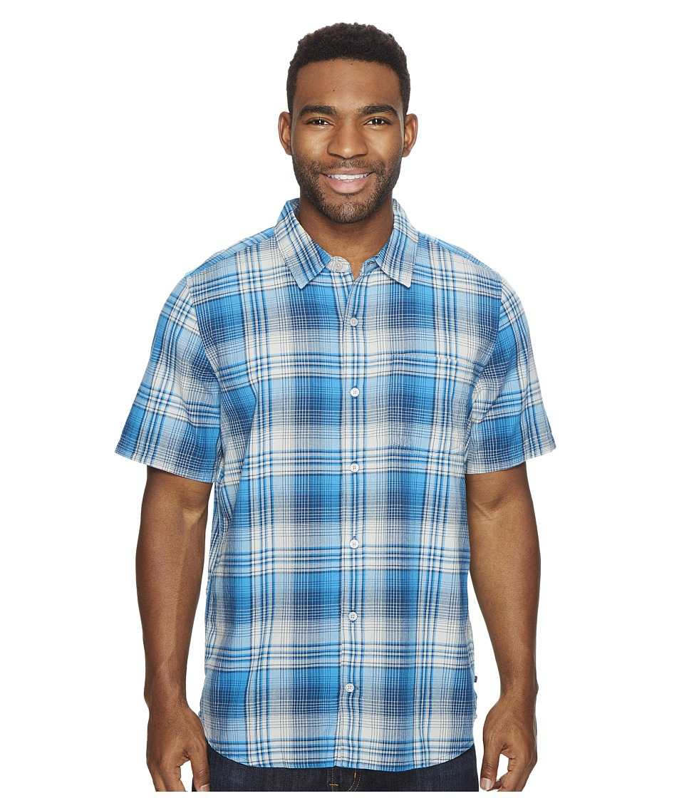 Toad&Co - Coolant S/S Shirt (Blue Foot) Men's Short Sleeve Button Up