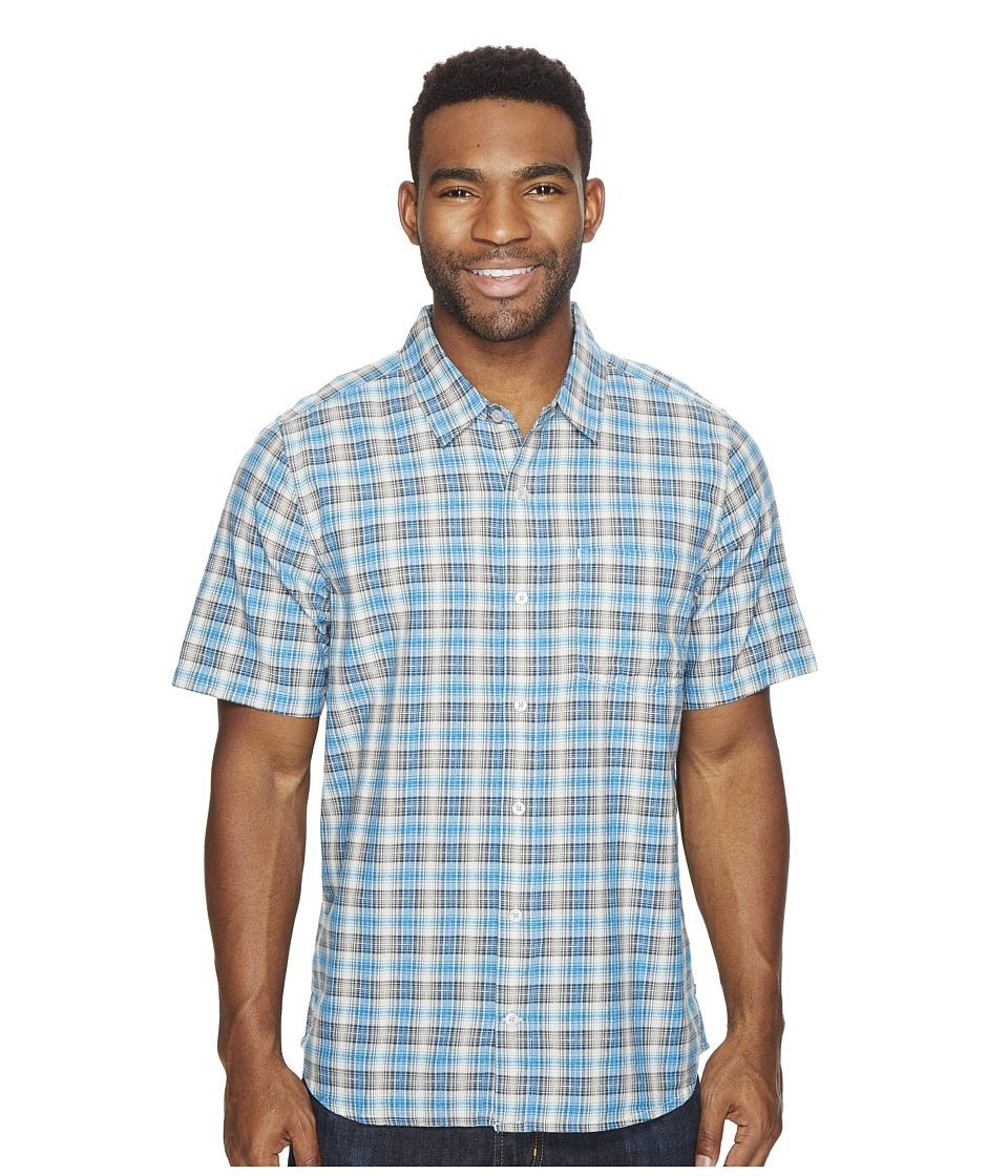 Toad&Co - Airscape Short Sleeve Shirt (Blue Foot) Men's Clothing