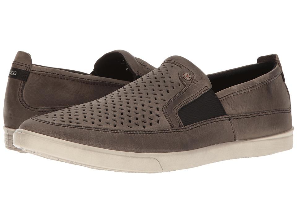ECCO - Collin Perf Slip-On (Wild Dove) Men's Shoes