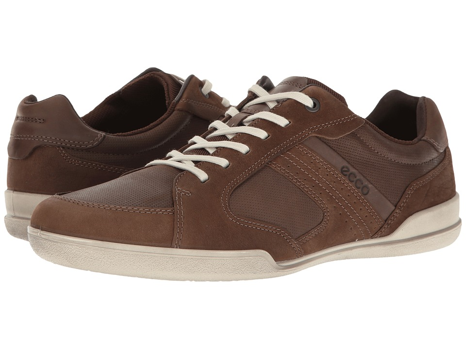 ECCO - Enrico Sneaker (Camel/Coffee) Men's Lace up casual Shoes