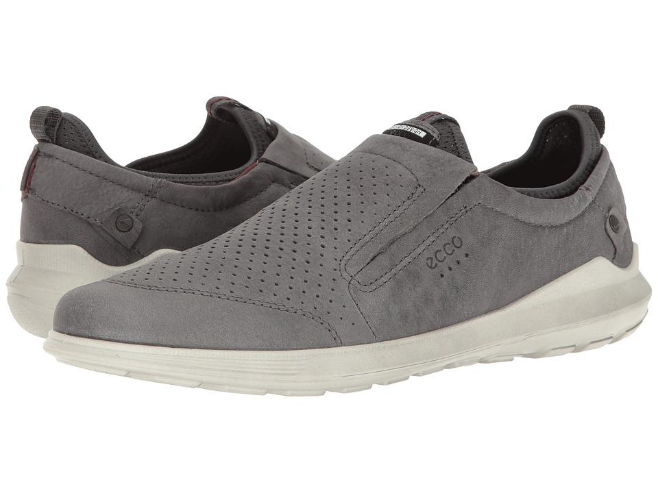 ECCO - Transit Slip-On (Dark Shadow) Men's Slip on Shoes