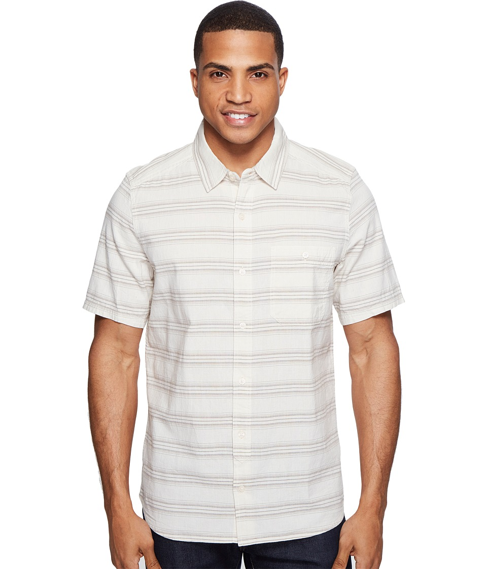 Toad&Co - Hardscape S/S Shirt (Pelican) Men's Short Sleeve Button Up