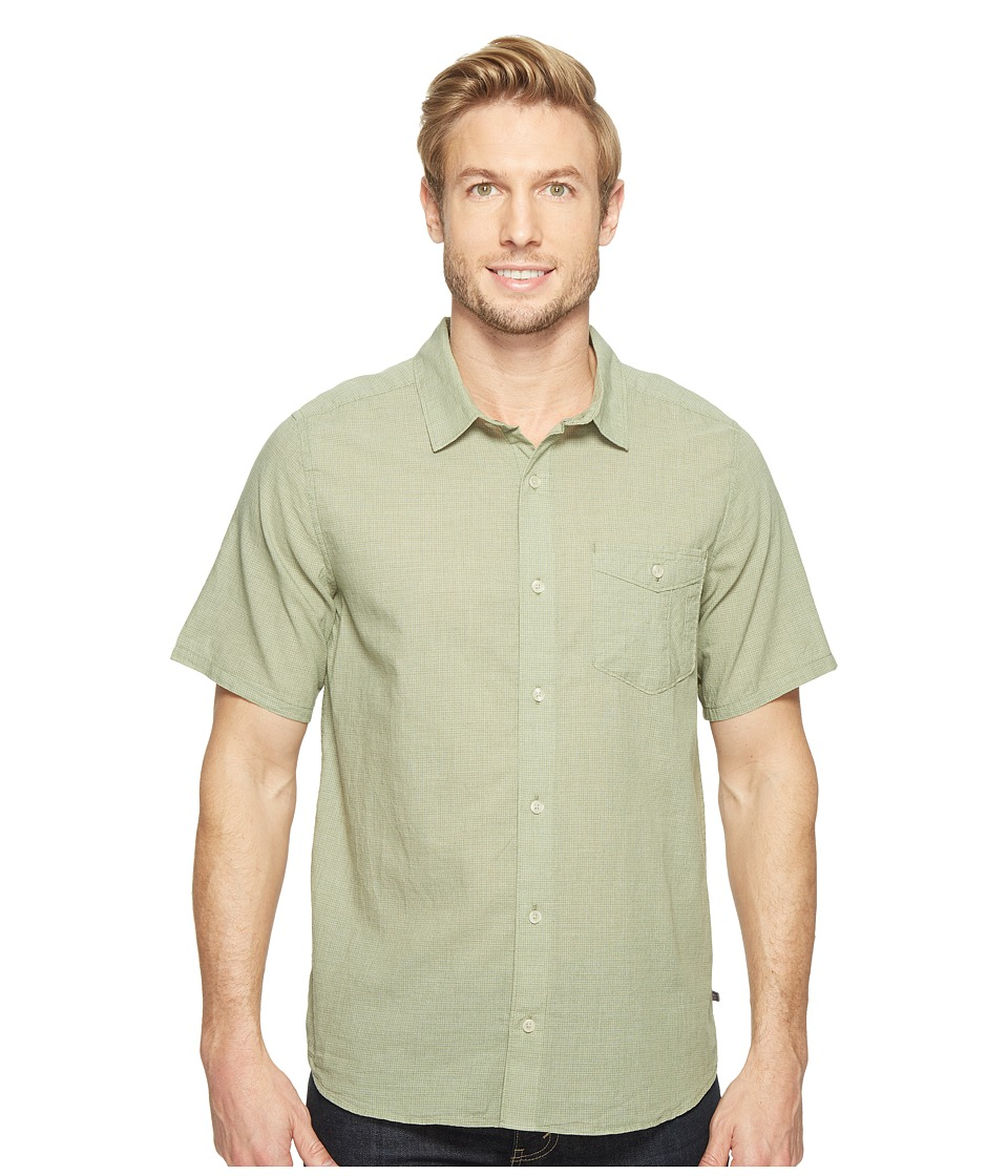 Toad&Co - Airbrush S/S Shirt (Kale) Men's Short Sleeve Button Up