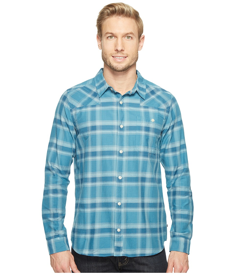 Toad&Co - Wonderer L/S Shirt (Seaport) Men's Long Sleeve Button Up