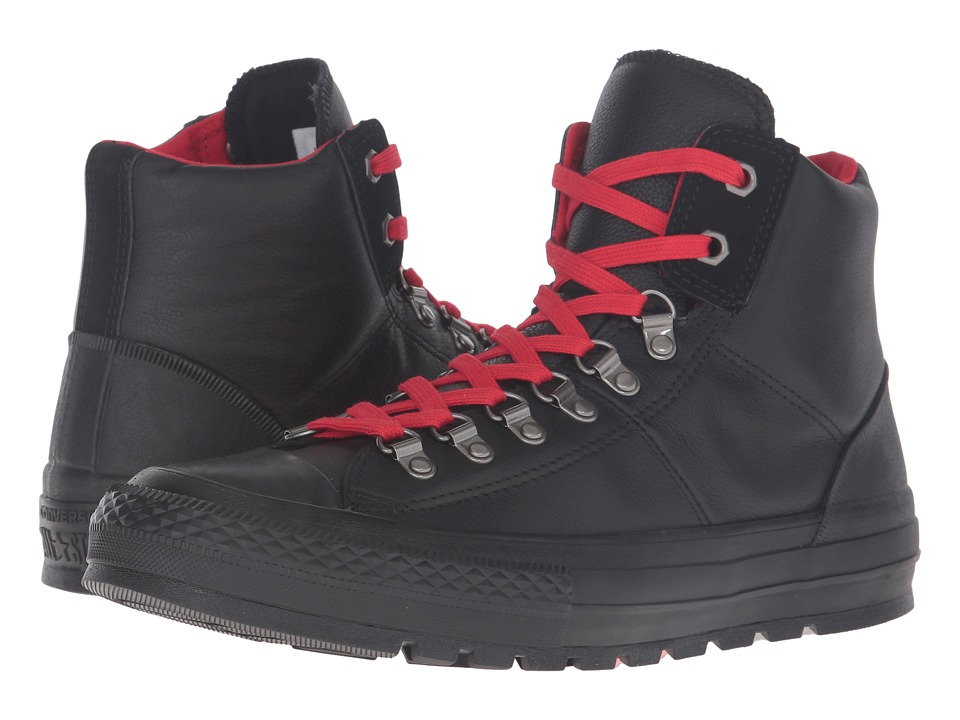 Converse - Chuck Taylor All-Star Street Hiker Hi (Black) Classic Shoes