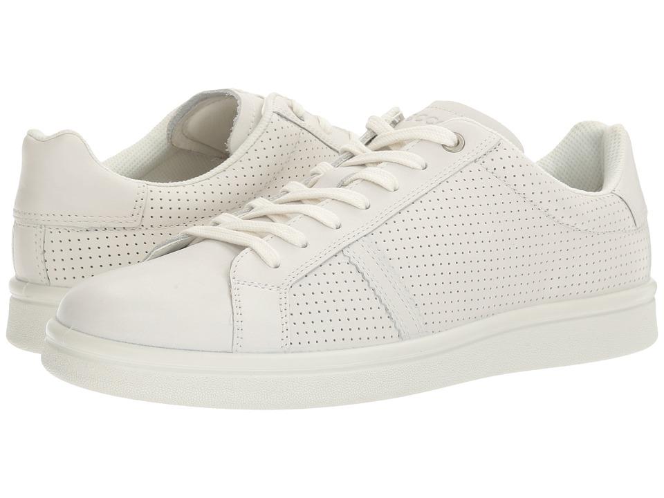 ECCO - Kallum Premium Sneaker (White) Men's Lace up casual Shoes