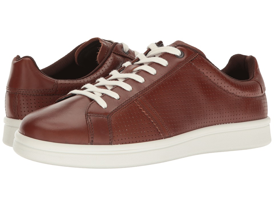 ECCO - Kallum Premium Sneaker (Whiskey) Men's Lace up casual Shoes