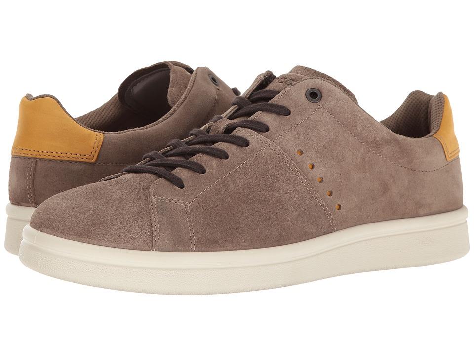 ECCO - Kallum Casual Sneaker (Espresso/Oak) Men's Lace up casual Shoes