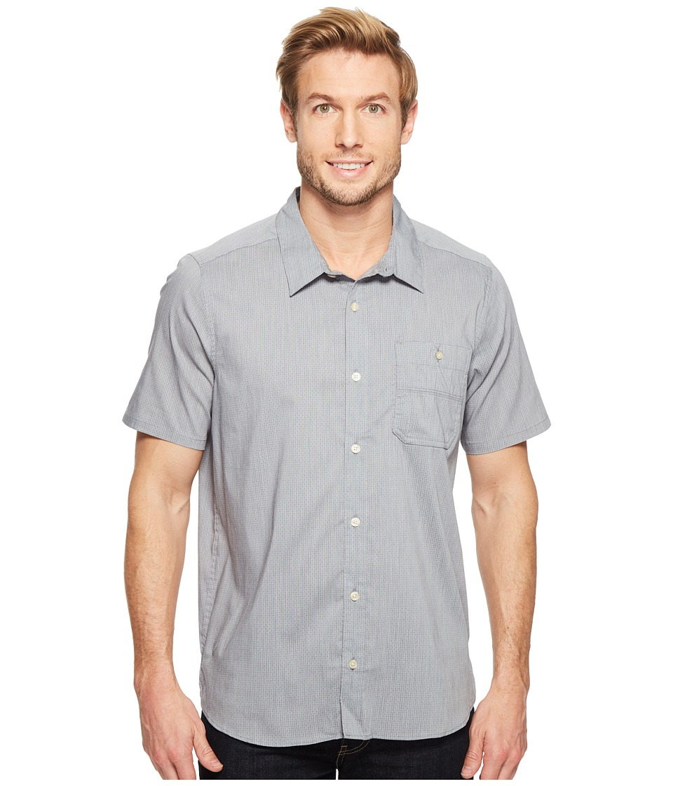 Toad&Co - Panorama Chambray Short Sleeve Shirt (Deep Navy) Men's T Shirt