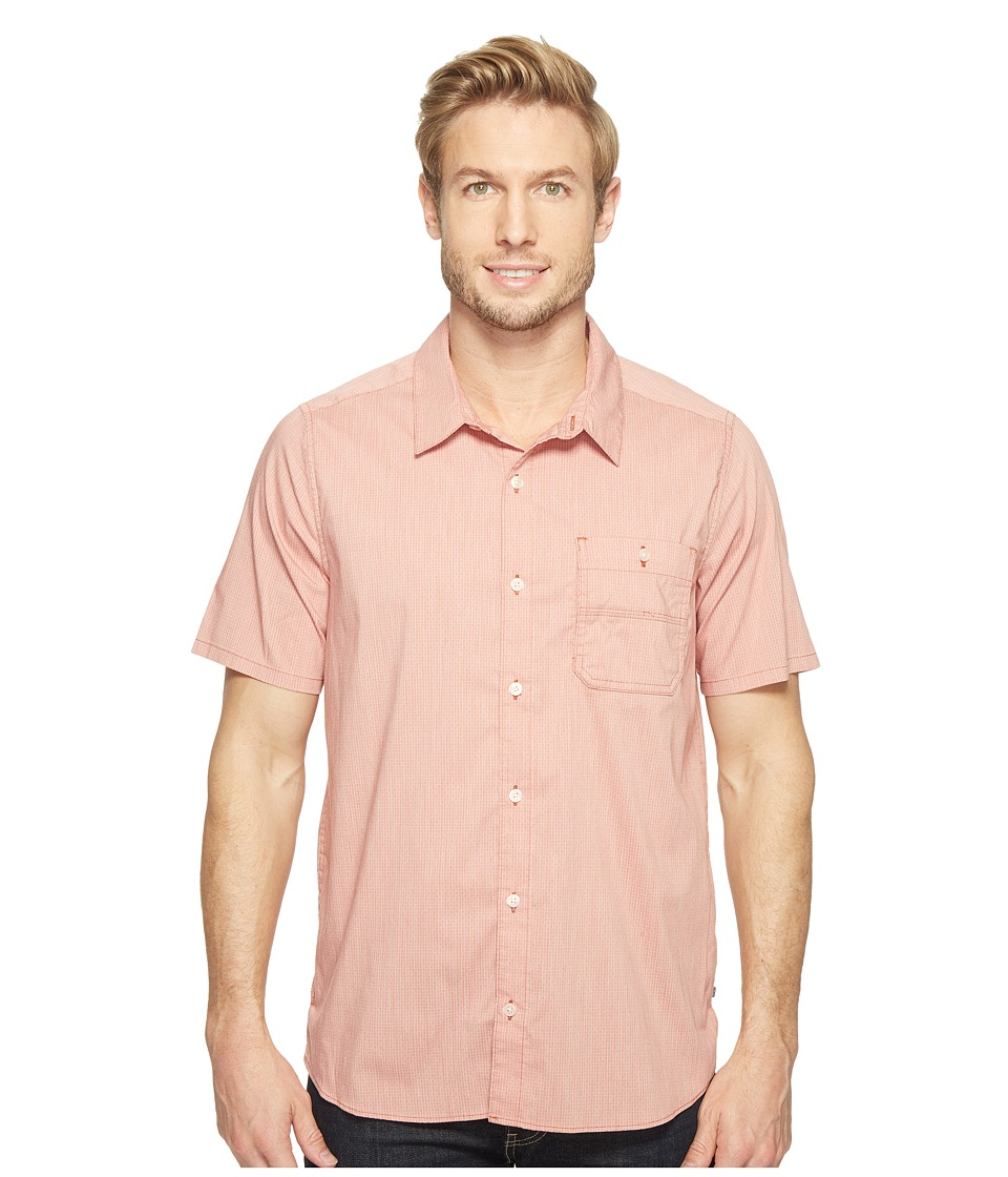 Toad&Co - Panorama Chambray Short Sleeve Shirt (Red Clay) Men's T Shirt