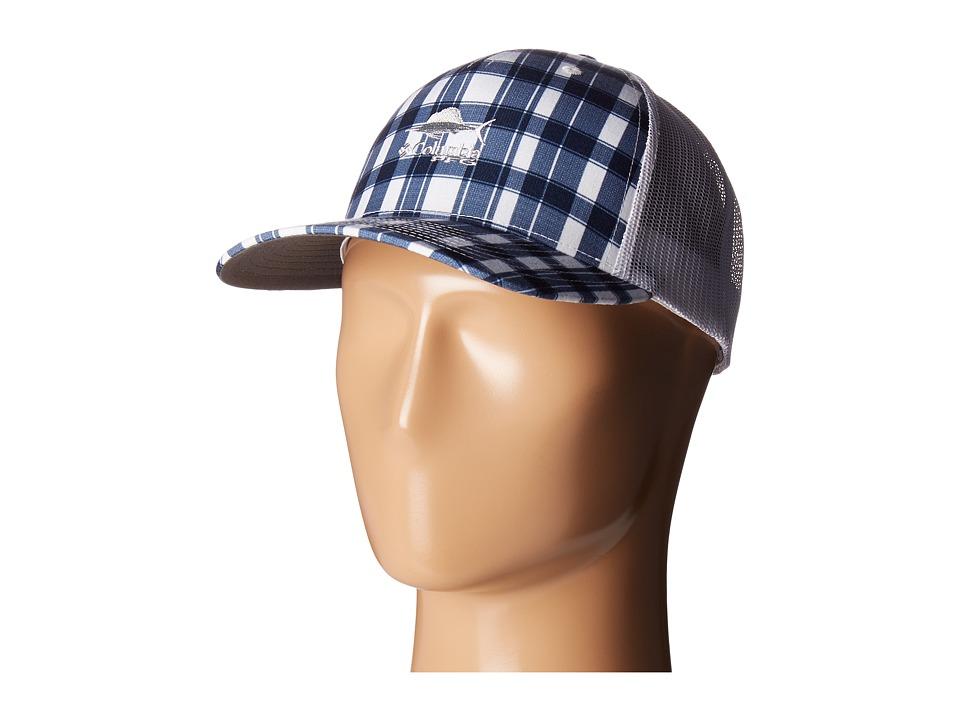 Columbia - Super Bonehead Mesh Ballcap (Moxie Multi Gingham) Baseball Caps