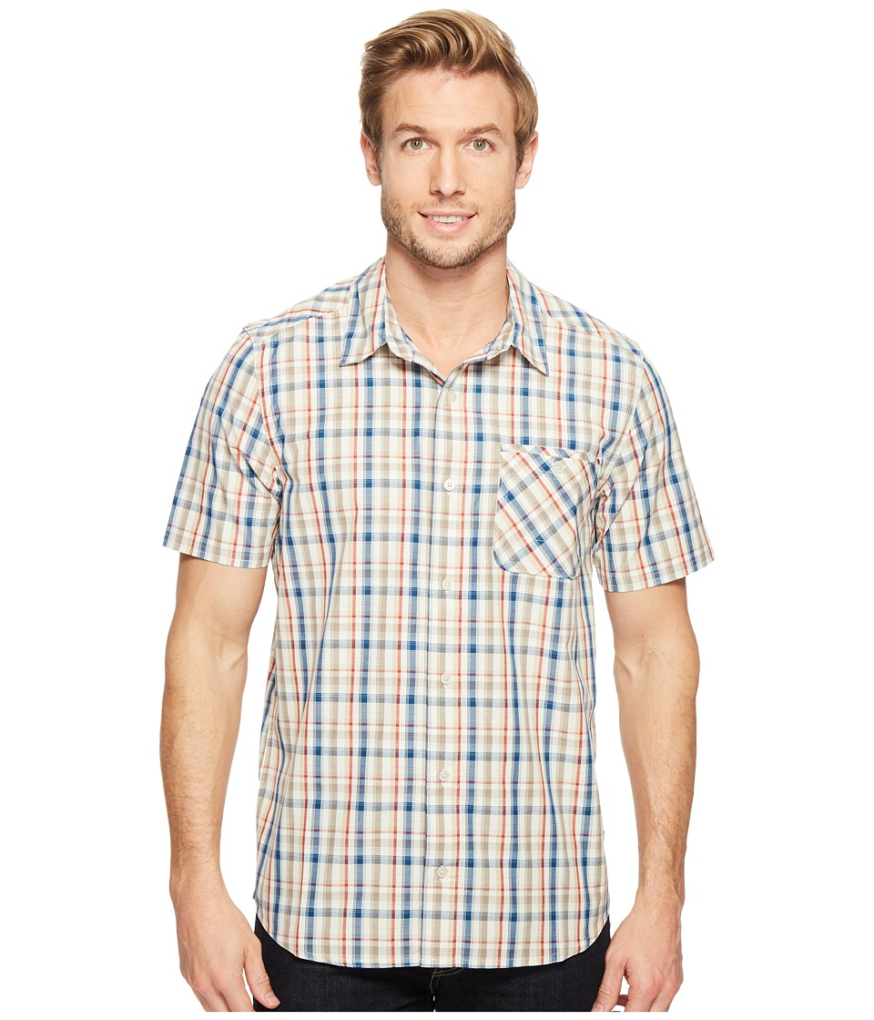 Toad&Co - Ventilair Short Sleeve Shirt (Salt) Men's Clothing