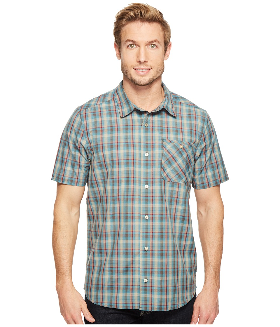 Toad&Co - Ventilair Short Sleeve Shirt (Hydro) Men's Clothing