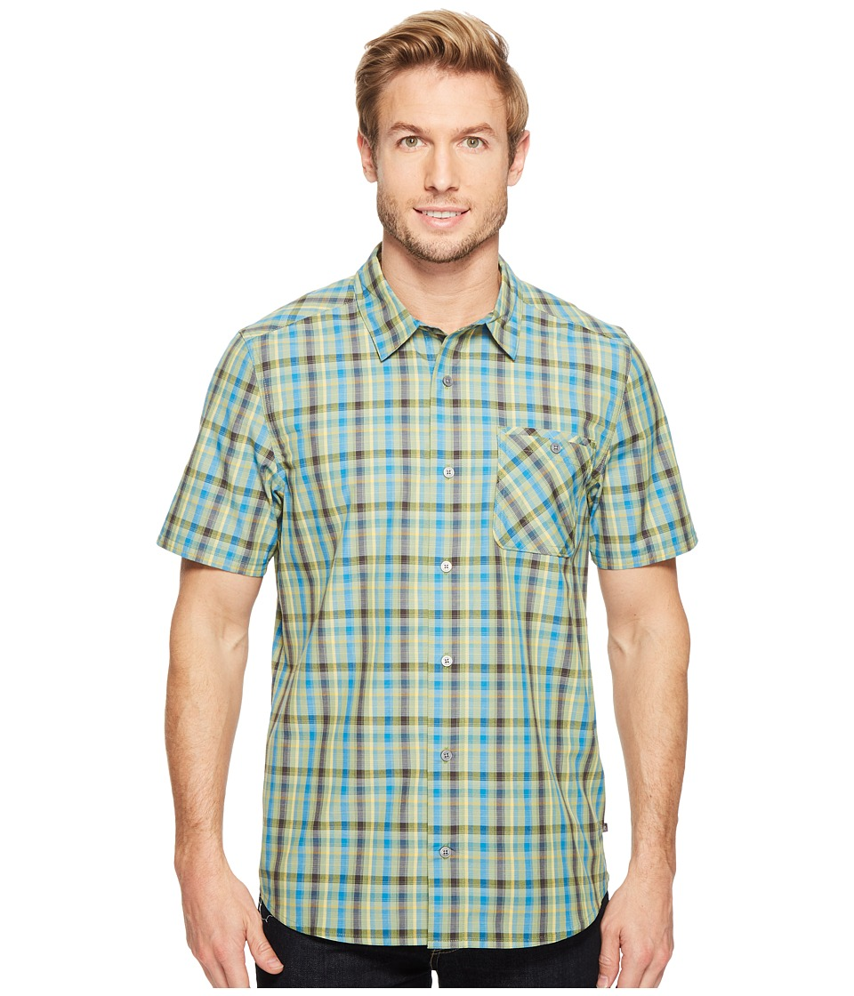 Toad&Co - Ventilair Short Sleeve Shirt (Iguana) Men's Clothing
