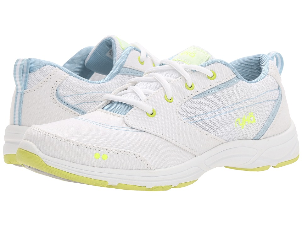 Ryka - Teanna (White/Lime) Women's Shoes