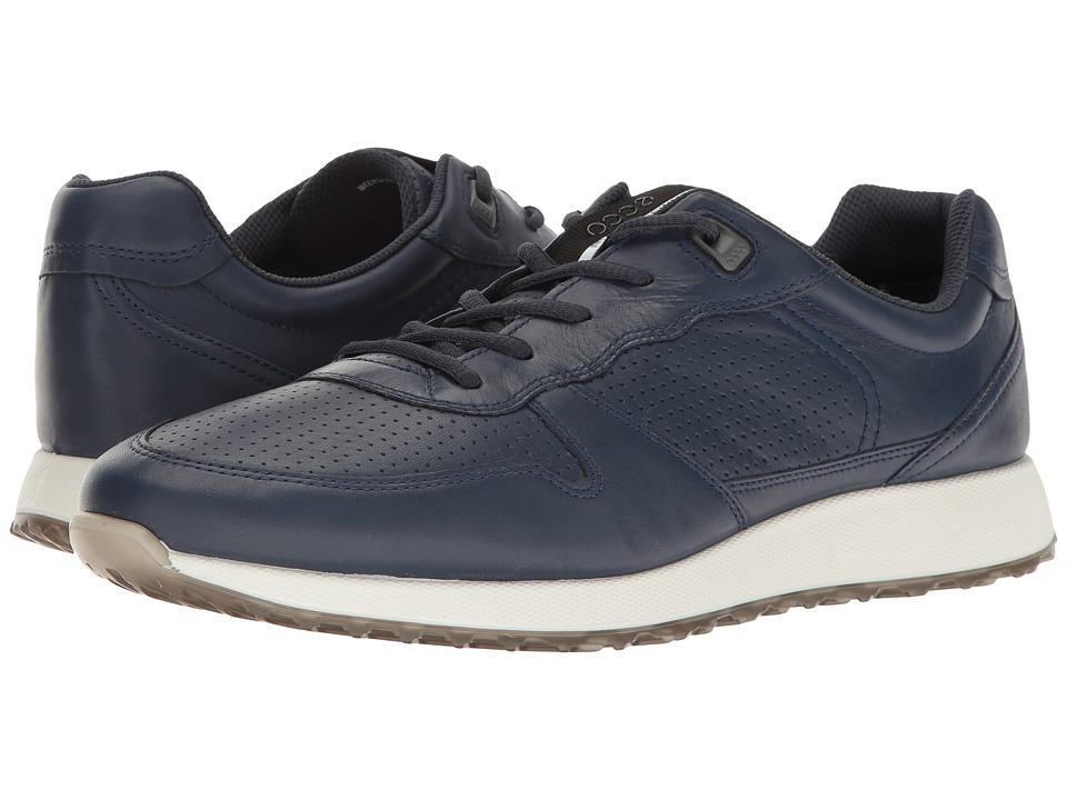ECCO - Sneak Trend (True Navy) Men's Lace up casual Shoes